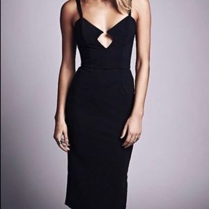 Free People Again Collection Little Black Dress